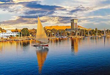 Imagen Barco navegando por Nilo