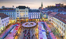 imagen Mercadillos de Navidad por el Danubio Puente diciembre