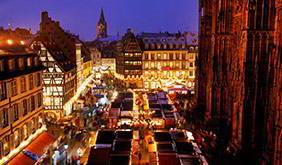 Imagen Mercadillos De Navidad En El Rhin