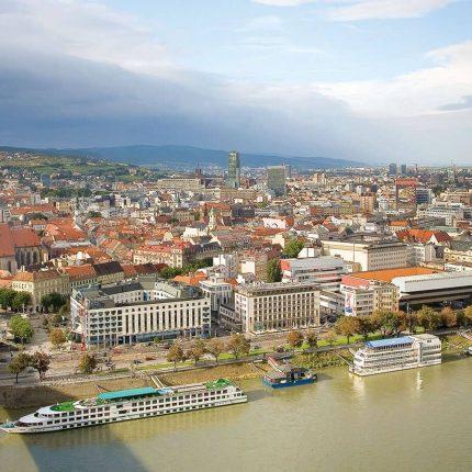 Gran crucero por el Danubio Bratislava