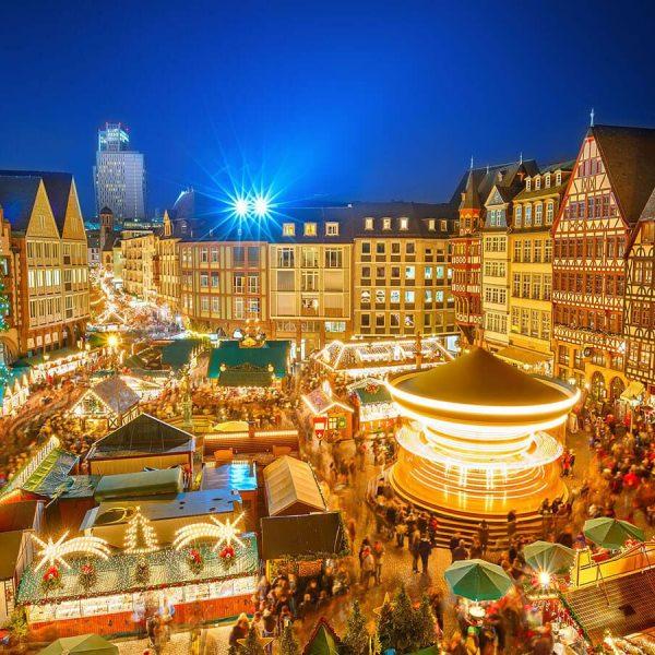 Mercadillo Navideño en Frankfurt