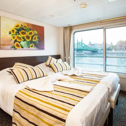 Cabina Puente Superior barco Vivaldi