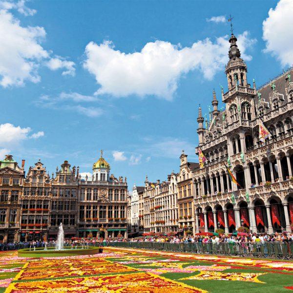 Bruselas, Cruceros Rhin