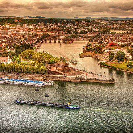 Cruceros desde Coblenza en Alemania